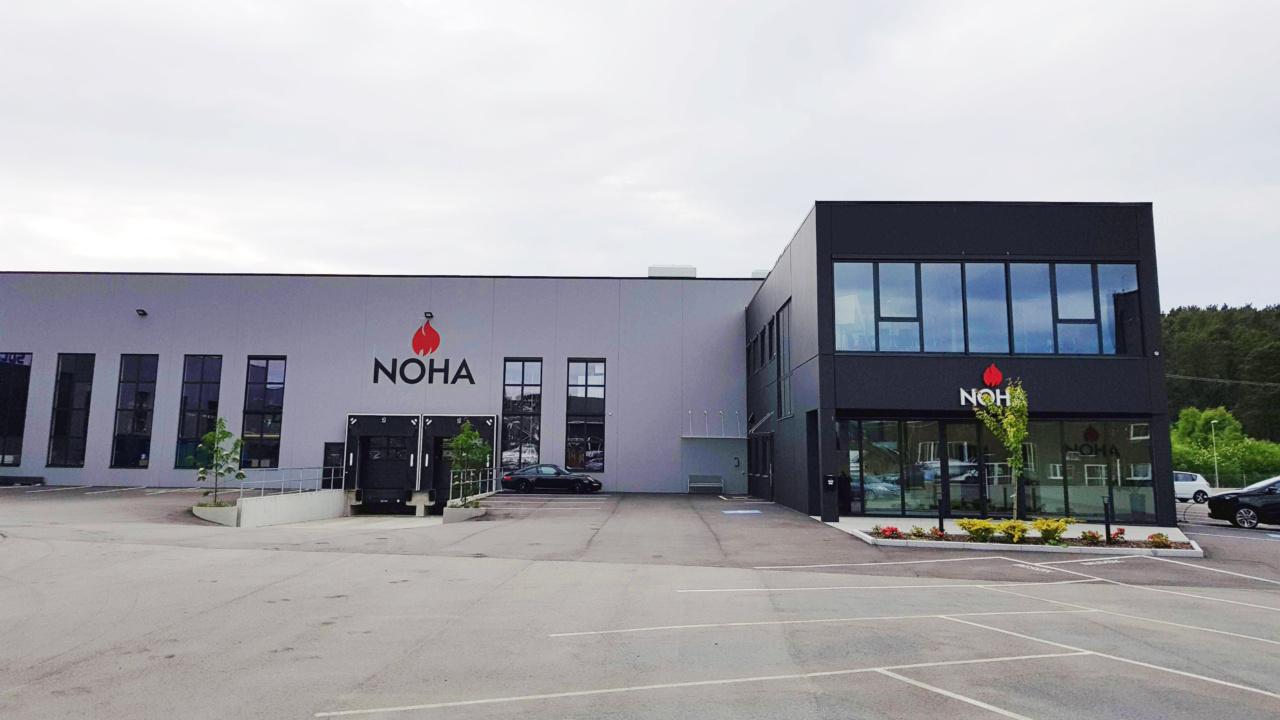 Hovedkontor på Orstad