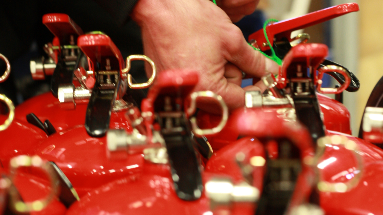 Kontroll og vedlikehold av brannslokker