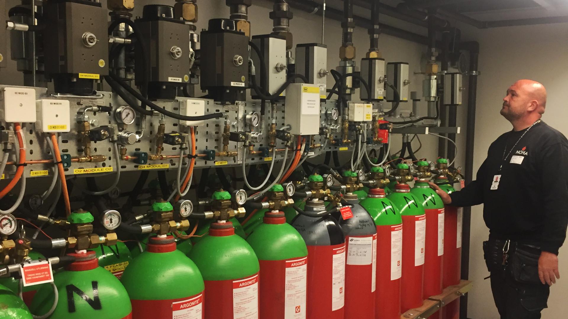 Kontroll og vedlikehold av gasslokkesystem 2
