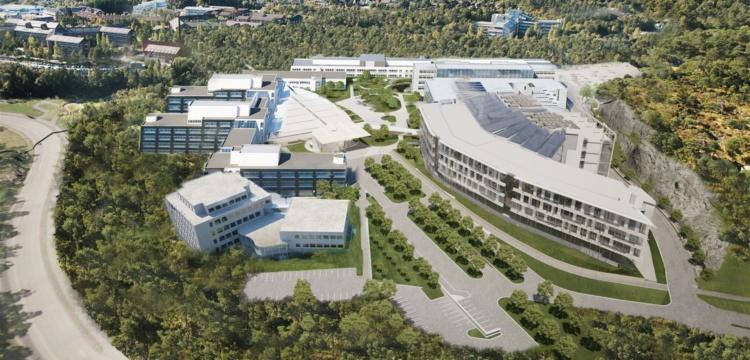 Kontroll og vedlikehold i Bergens største bygg