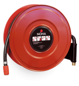 Swinging Fire Hose Reel with Automatic Valve