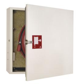 Brannslangetrommel i isolert/oppvarmet skap - innendørs