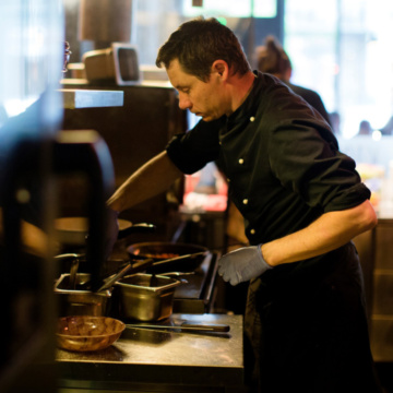 Automatisk slokkesystem til grillrestaurant