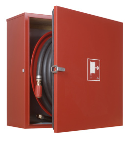 Offshore Fire Hose Reel in Cabinet - NORSOK