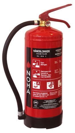 Powder Extinguishers