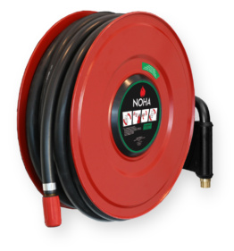 Swinging SST General Purpose Hose Reel - Red