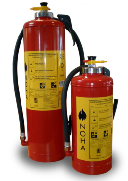 Gas Cartridge ABC Powder Extinguishers