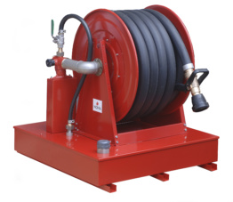 Offshore Hose Reel with foamtank