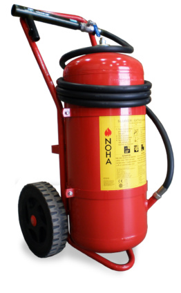 Wheeled Powder Extinguisher