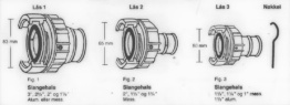 NOR Hose Couplings
