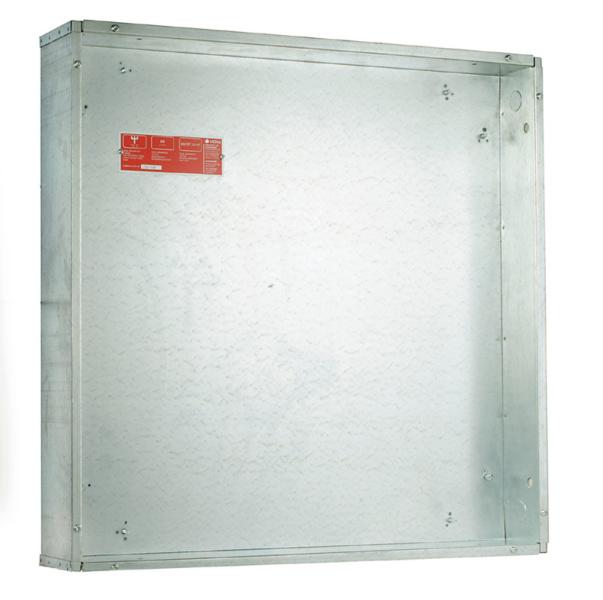 EI60 innbyggingskasse for innfelling i brannklassifisert vegg