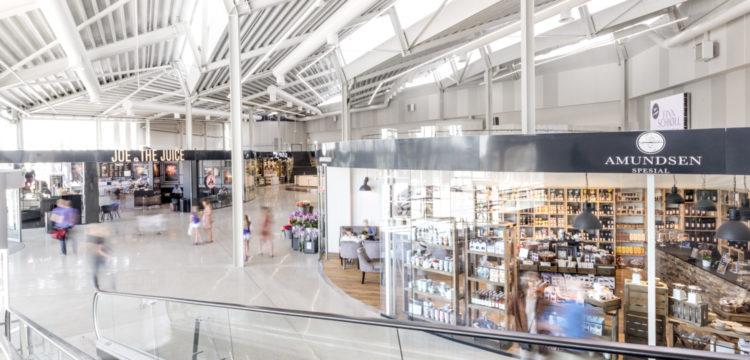 Kontroll og vedlikehold hos Kvadrat - regionens største kjøpesenter